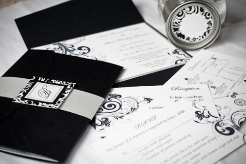 The Nicole Wedding Invitation Suite