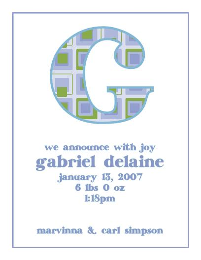 gabriel delaine announcement