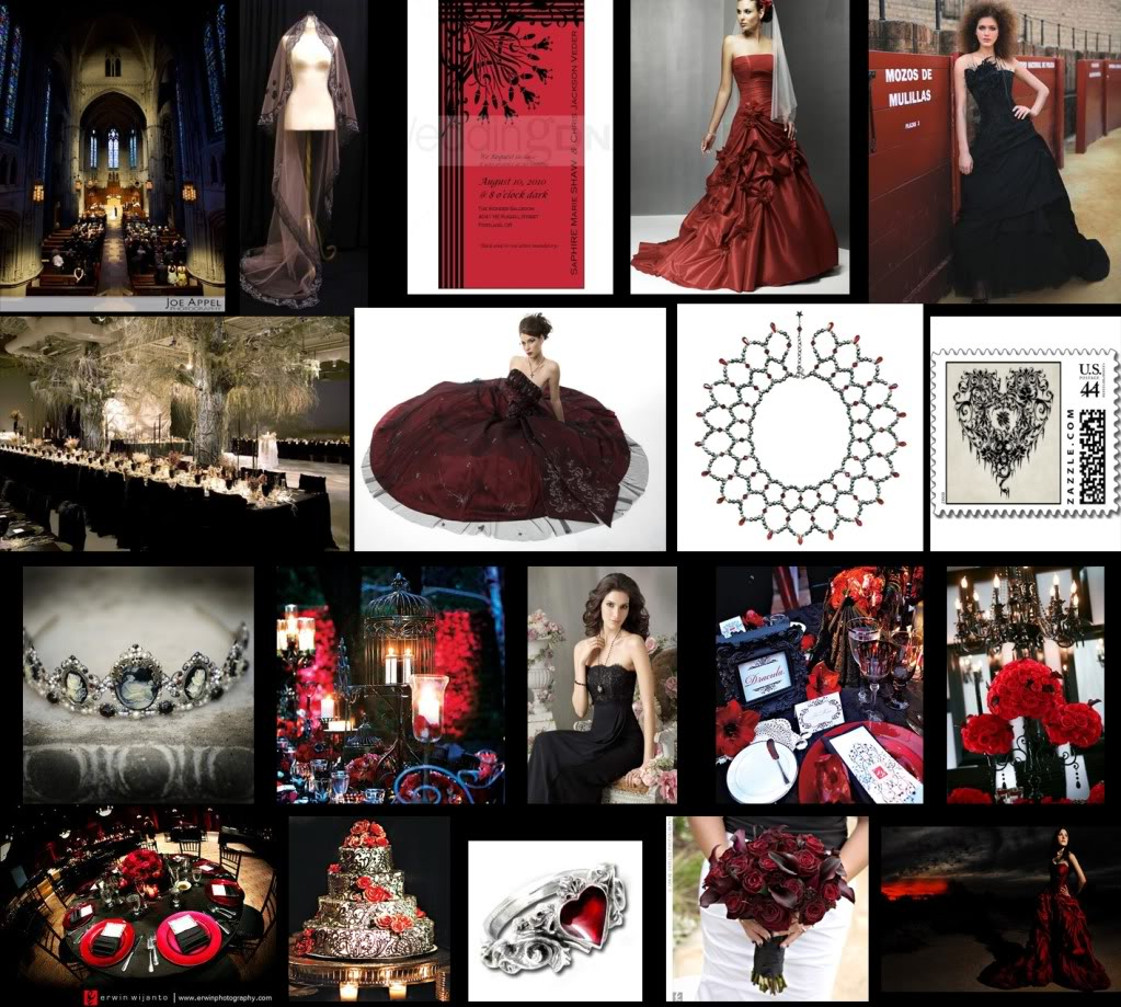 It S Theme Time Again The Gothic Themed Wedding Platinum