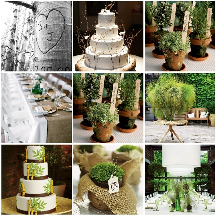 10 tips for an eco chic weddings platinum invitations Environmentally friendly decorations