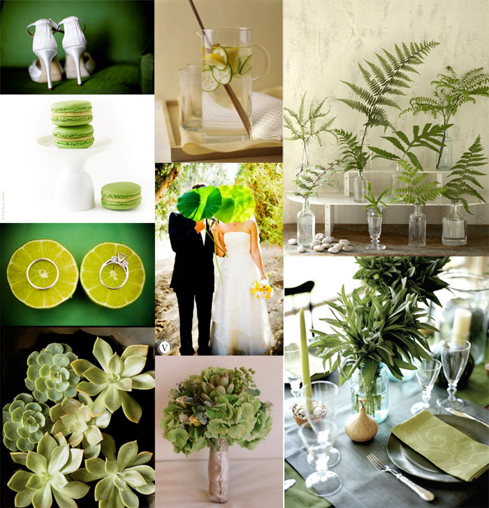 Green for Wedding