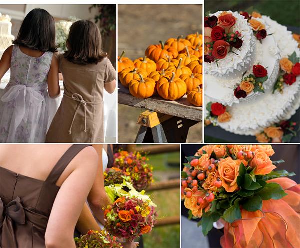 Great Fall Wedding Ideas